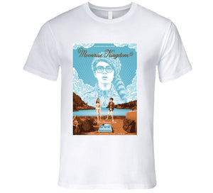 MOONRISE KINGDOM WES ANDERSON MOVIE POSTER NEW PENZANCE T Shirt