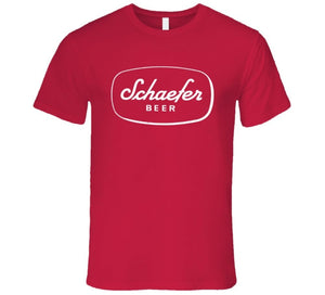 Schaefer Beer America Beer First Produce In New Yotk City 1842 T Shirt