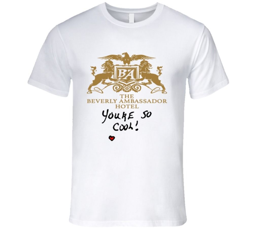 THE BEVERLY AMBASSADOR HOTEL, YOU'RE SO COOL TRUE ROMANCE T Shirt