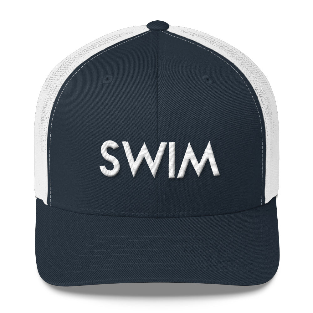 SWIM Logo Trucker Cap
