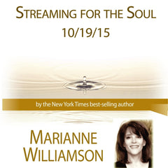 Streaming for the Soul / The New Priesthood with Marianne Williamson