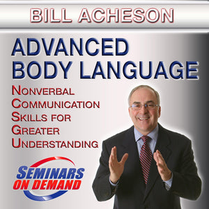 Advanced Body Language by Bill Acheson with Course Notes Audio Program BetterListen! - BetterListen!