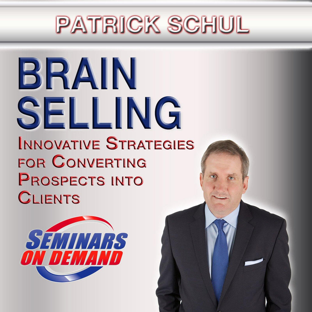 Brain Selling by Patrick Schul Audio Program BetterListen! - BetterListen!