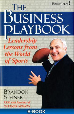 The Business Playbook - Free Chapter PDF with Brandon Steiner Audio Program BetterListen! - BetterListen!