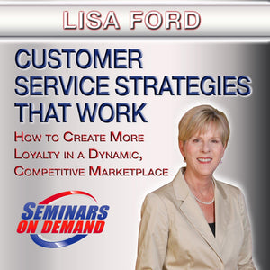 Customer Service Strategies by Lisa Ford with Course Notes Audio Program BetterListen! - BetterListen!
