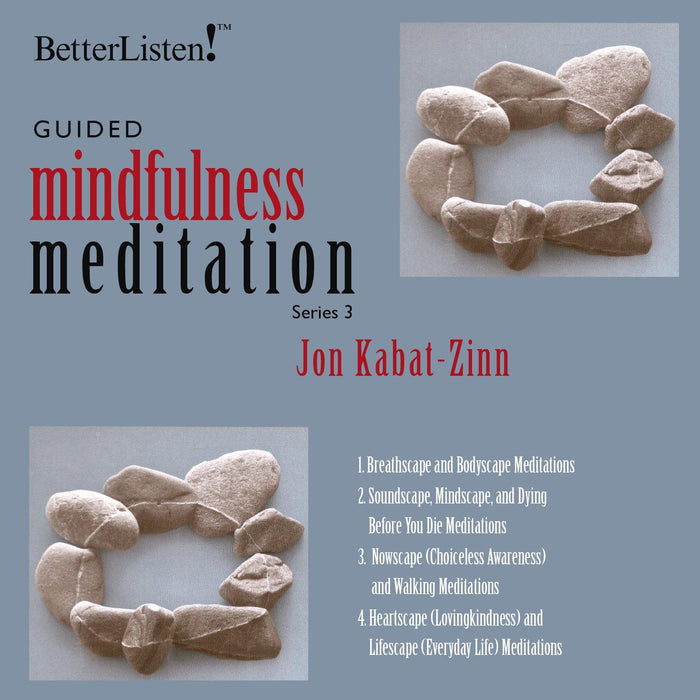 Guided Mindfulness Practices with Jon Kabat-Zinn mp3 - Series 1, Series 2, Series 3 mp3 Bundled Together