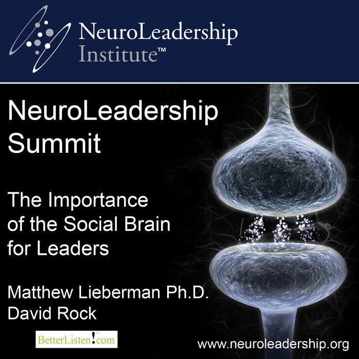 The Importance of the Social Brain for Leaders with Matthew Lieberman and David Rock