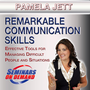 Remarkable Communication Skills by Pamela Jett with Course Notes Audio Program BetterListen! - BetterListen!
