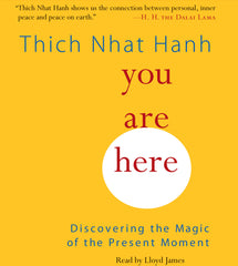 You Are Here: Discovering the Magic of the Present Moment by Thich Nhat Hanh, read by Lloyd James