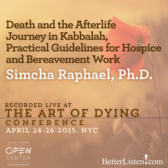 Death and the Afterlife Journey in Kabbalah, Practical Guidelines for Hospice and Bereavement Work with Simcha Raphael