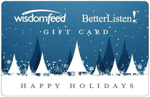 BetterListen Gift Card from $10 to $100 - BetterListen!