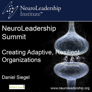 Creating Adaptive, Resilient Organizations with Daniel Siegel Audio Program BetterListen! - BetterListen!