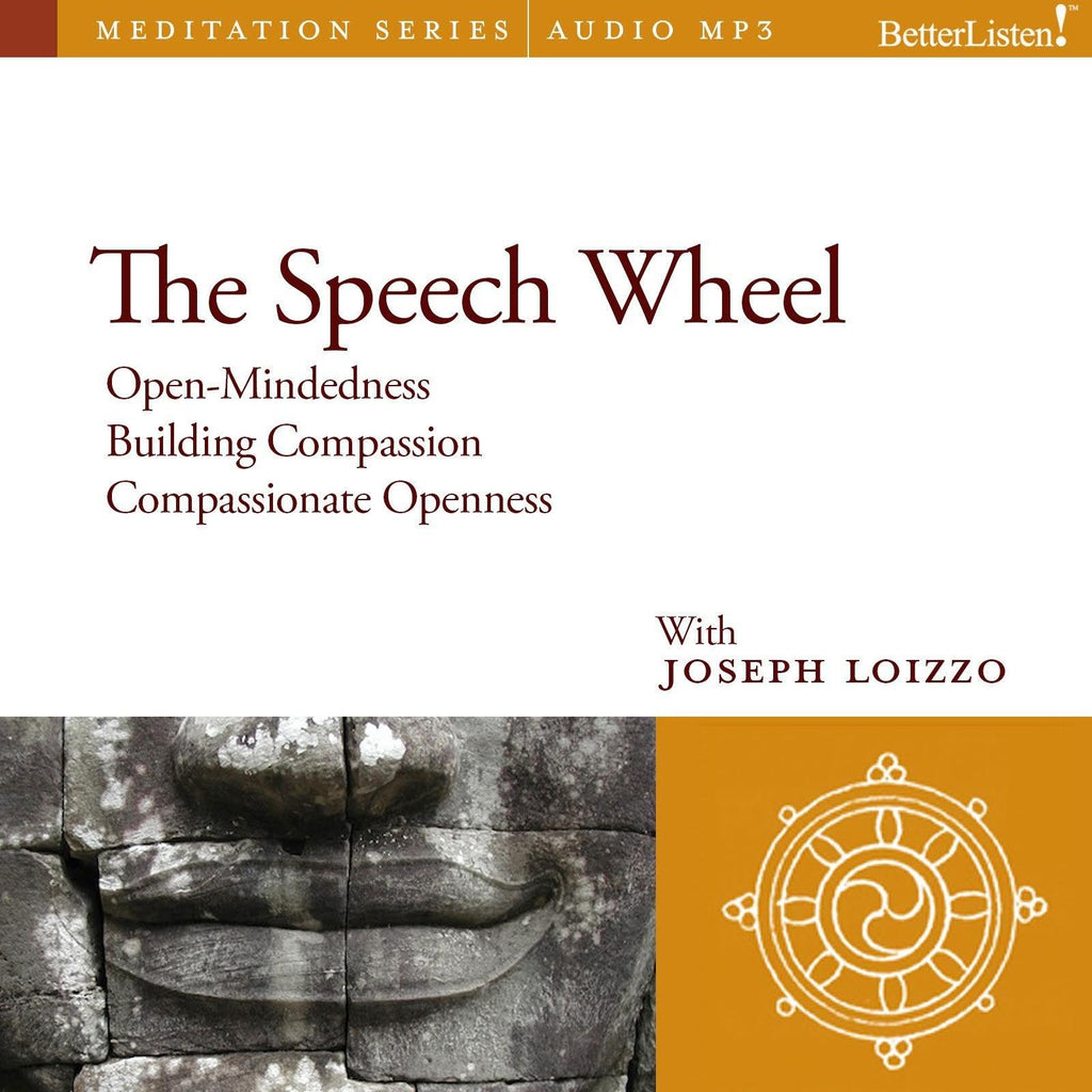The Speech Wheel: Compassion and Social Healing Guided Mediations from the Nalanda Institute Audio Program Nalanda - BetterListen!