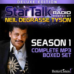 StarTalk Radio, Season 1, Complete Set - Deluxe Edition (mp3s, Bonus Apollo 11 interviews, Digital Autograph PDF), hosted by Neil deGrasse Tyson