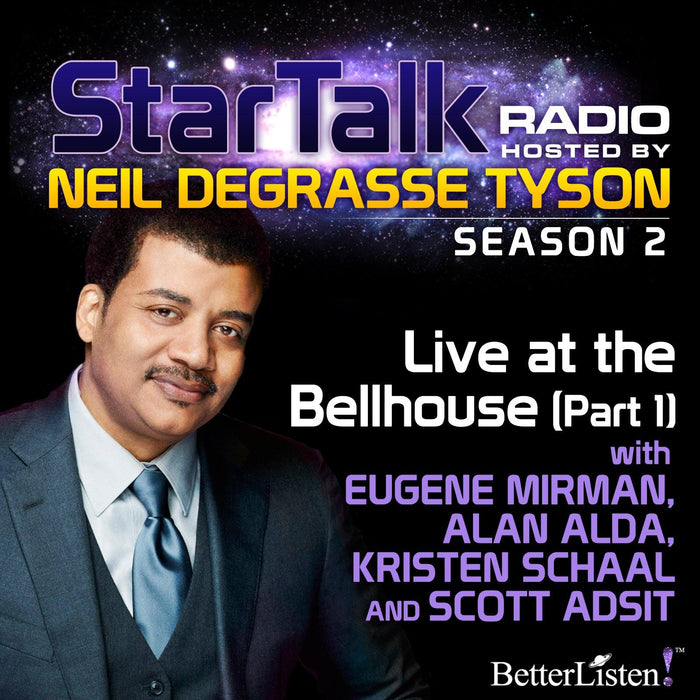Live at the Bellhouse (Part 1) with Neil deGrasse Tyson