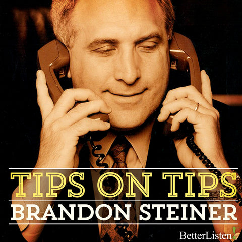 Tips on Tips Seminar with Brandon Steiner