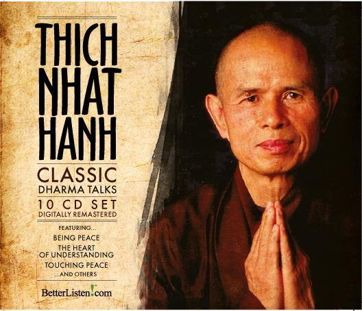 Classic Dharma Talks by Thich Nhat Hanh Audio Program Parallax Press - BetterListen!