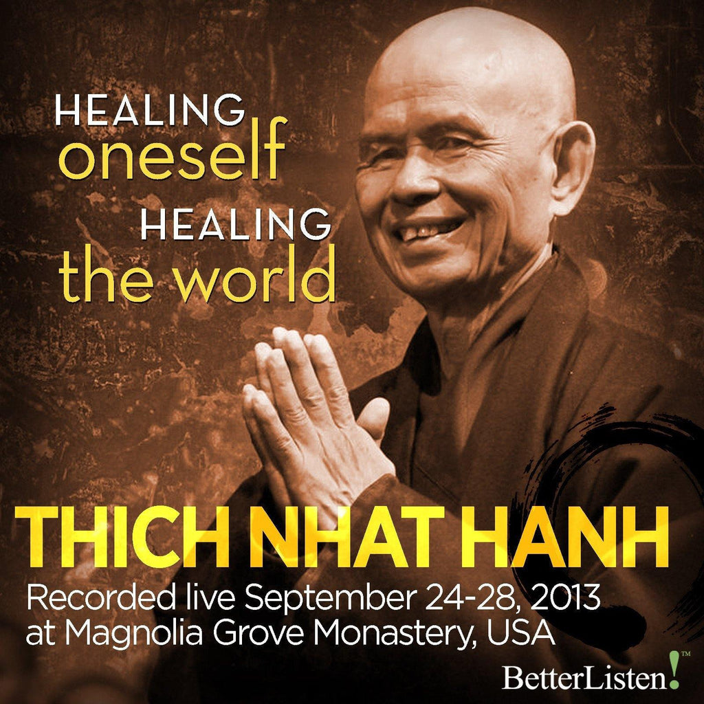 Healing Oneself Healing the World -Thich Nhat Hanh - Dharma Talks Only Audio Program Parallax Press - BetterListen!