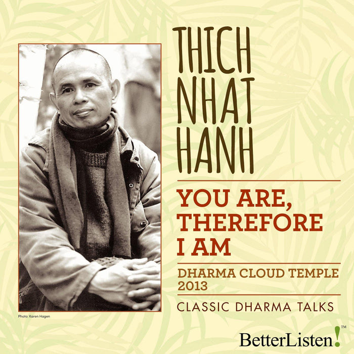 You Are, Therefore I Am by Thich Nhat Hanh