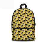 Boston Terrier Rucksack - Yellow