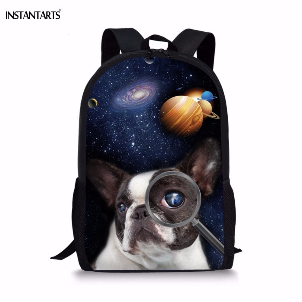 Boston Terrier Children's Rucksack
