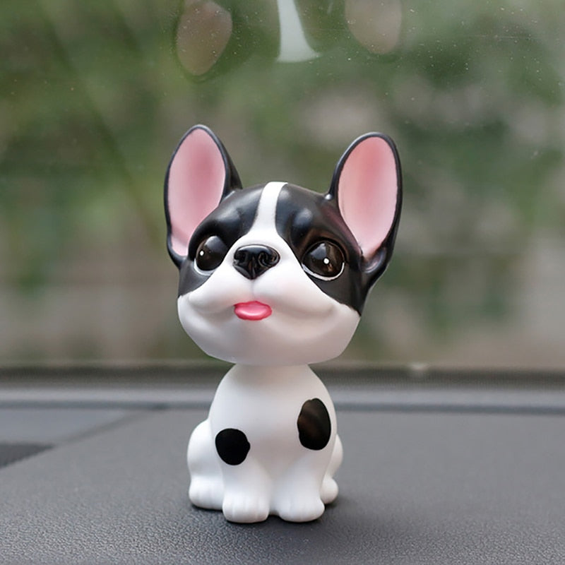 Boston Terrier Car Dashboard Accessory