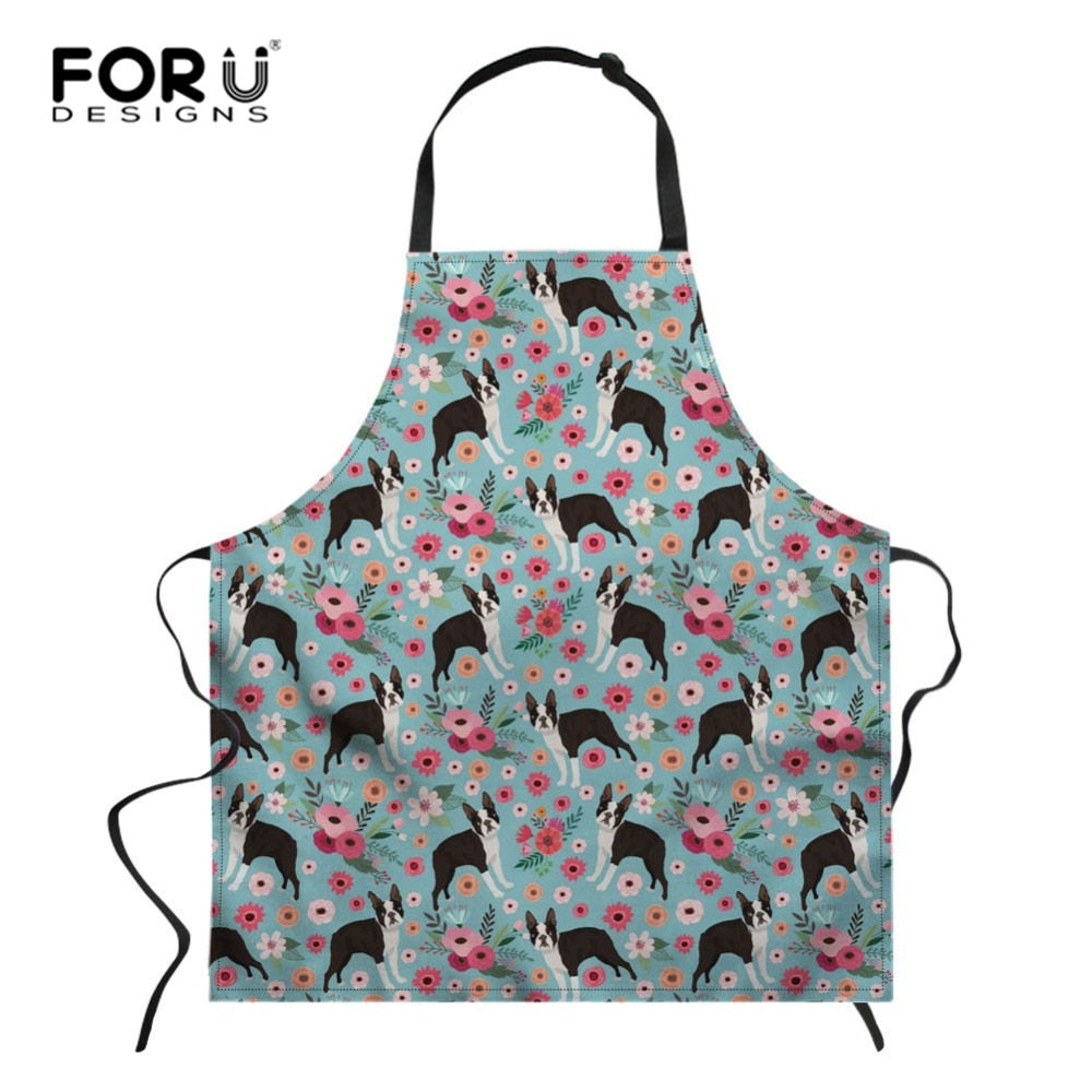 Boston Terrier Apron
