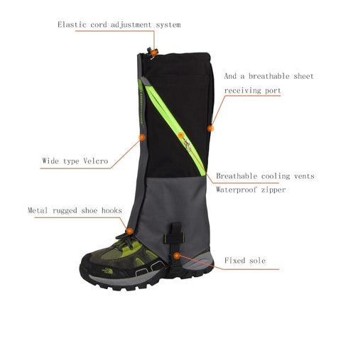 2 Layers Waterproof Gaiters