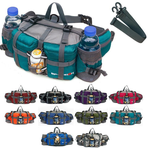 Outdoor waterproof  multi-functional fanny pack