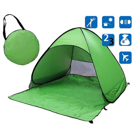 No-Hassle Single Person Lightweight Camping Tent