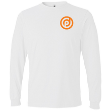 Load image into Gallery viewer, LS T-Shirt White w/ Back Print