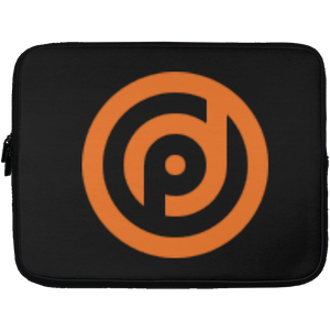 13 in. Laptop Sleeve Black - 'p' Logo
