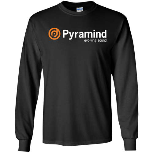 LS T-Shirt Black - Pyramind