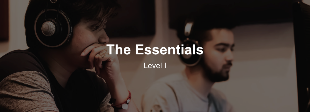 Music Creation Essentials Program