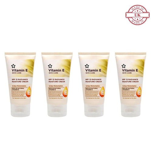 Superdrug Vitamin E Radiance Face Cream 50ml 4Pcs Set