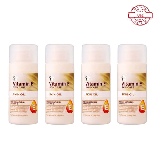 Superdrug Vitamin E Skin Oil 30ml 4Pcs Set
