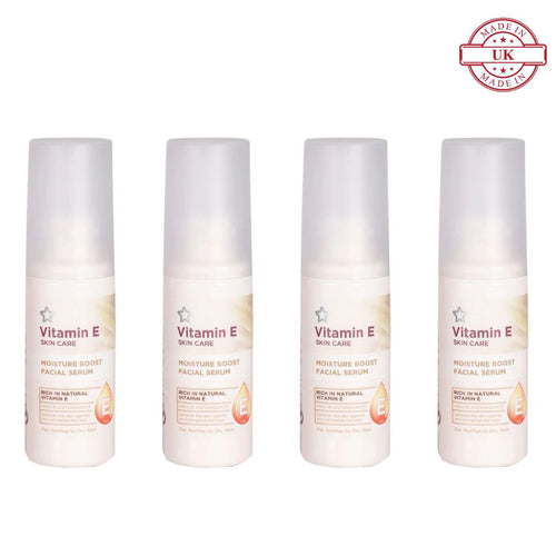 Superdrug Vitamin E Serum 50ml 4Pcs Set
