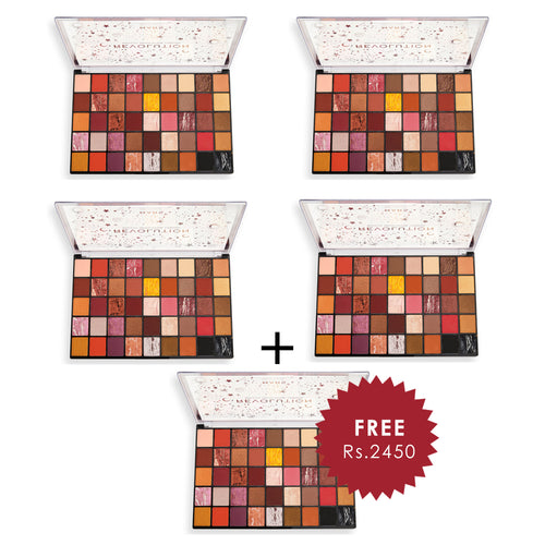 Makeup Revolution Mars Eyeshadow Palette 4pc Set + 1 Full Size Product Worth 25% Value Free