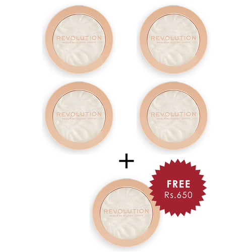 Revolution Highlight Reloaded Golden Lights  4Pcs Set + 1 Full Size Product Worth 25% Value Free
