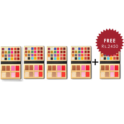Revolution Pro X Lan Nguyen Grealis Ultimate Artist Face Palette 4Pcs Set + 1 Full Size Product Worth 25% Value Free