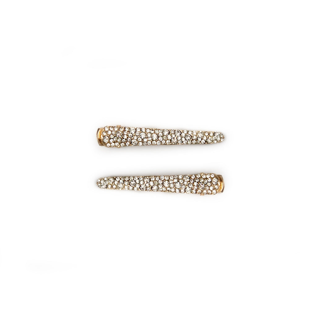 Mei Mi Studio Diamante Crocodile Clip Set of 2