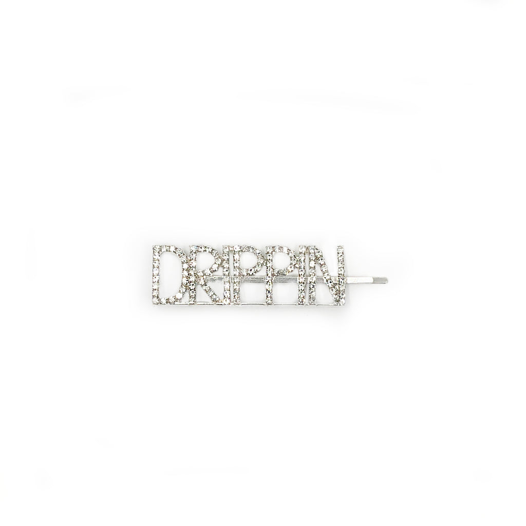 Diamante Drippin Hair Grip