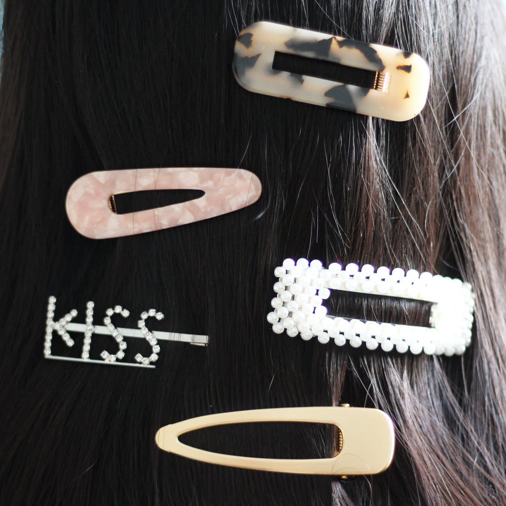 Diamante Kiss Hair Grip