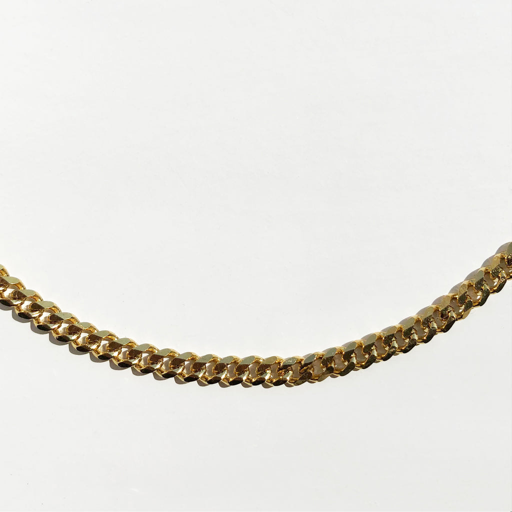 Dainty Cuban Chain Necklace
