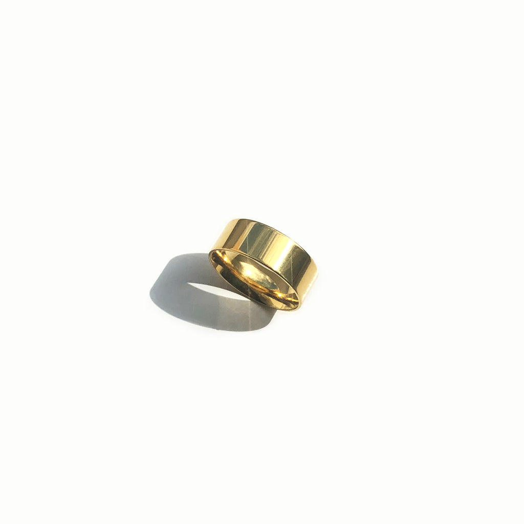 Gold Band Ring - Lucia