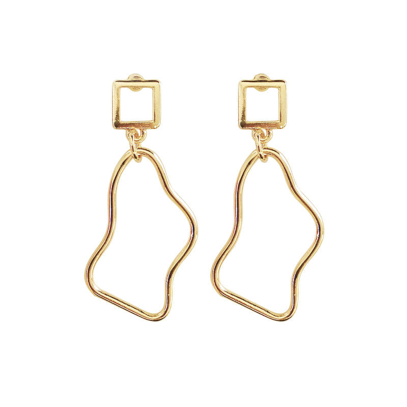 Irregular Dangle Earrings Mei Mi Studio