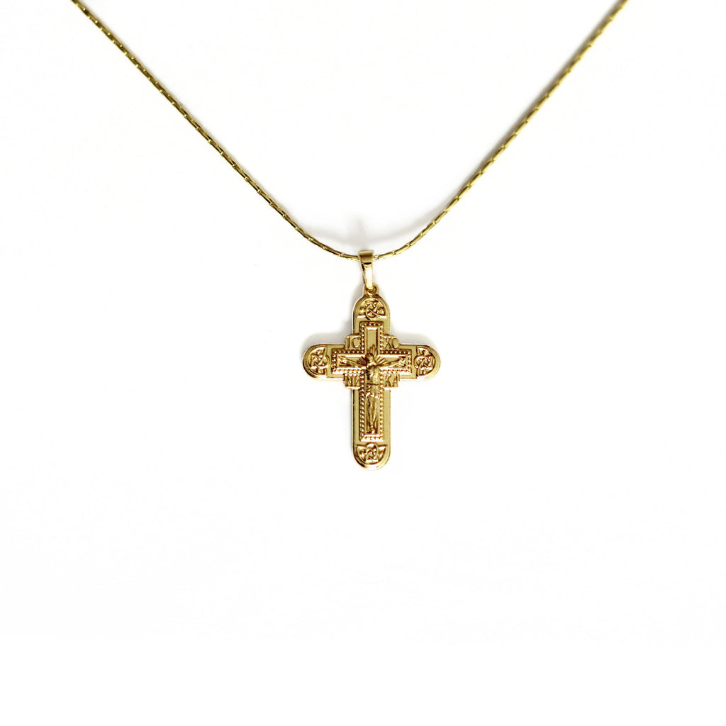 Jesus Christ Cross Pendant Necklace Mei Mi Studio
