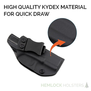 IWB Kydex Holster for Glock 19, 19x, 23, 32