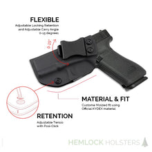 Load image into Gallery viewer, IWB Kydex Holster for Glock 19, 19x, 23, 32