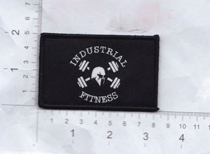 White on Black Morale Patch
